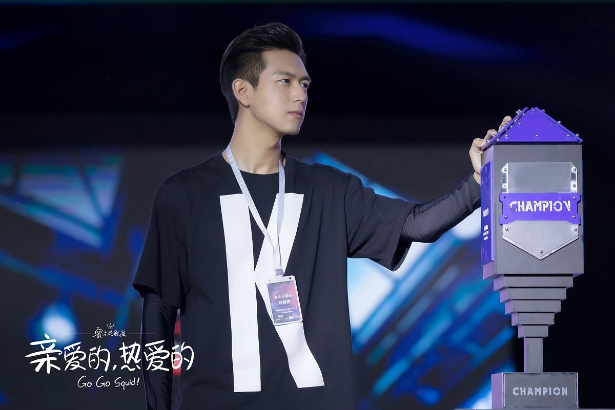李現《親熱》領銜戰隊斬獲世界冠軍 甘為綠葉致敬青春中國夢