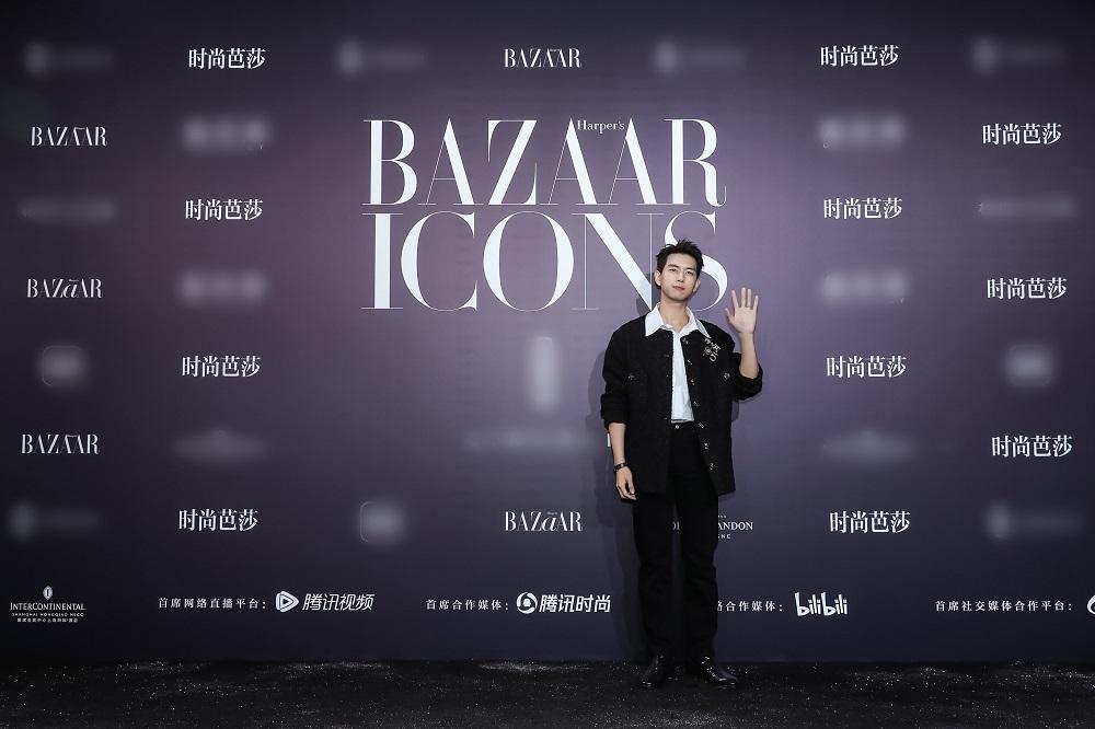 李现出席时尚芭莎年度派对 获年度人气ICON